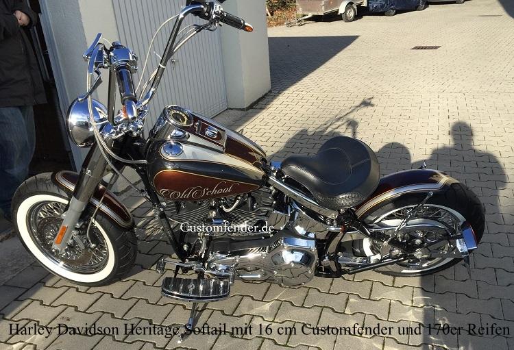 Harley Davidson Heckfender