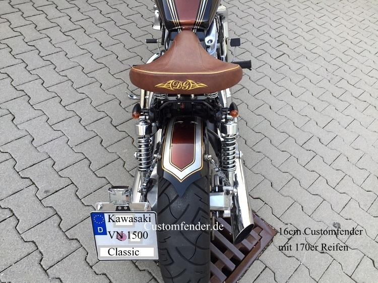 Kawasaki VN 1500 Classic Umbau